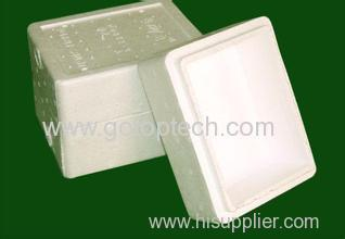 High quality and safe styrofoam fish box fruit box mold EPS products available
