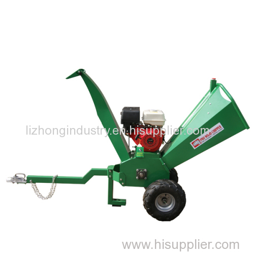 15hp 100mm max chipping green waste shredder