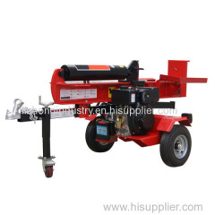 40T Homemade Log Splitter
