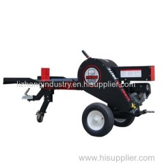 34T mechanical wood log cutter and splitter