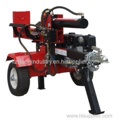 6.5HP manual towable log splitter