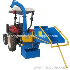 8inch Max Chipping self feeding PTO wood chipper