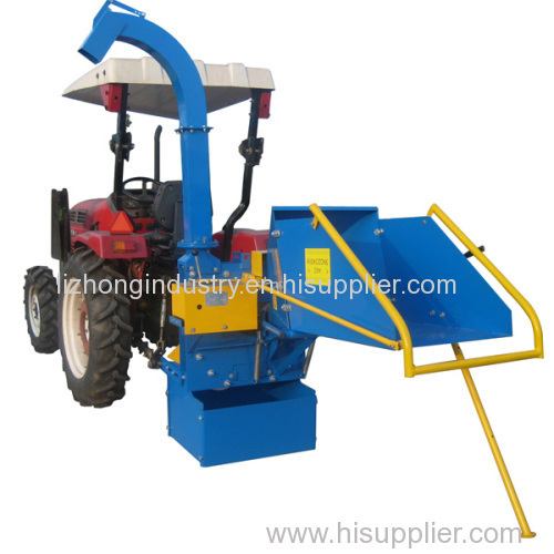 Max 8inch chipping capacity agricultural shredder machine