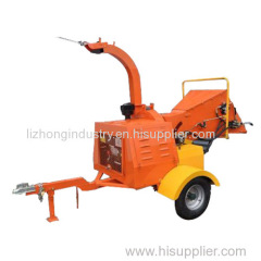 8inch Max chipping capacity 22hp diesel engine 3 point hitch wood chipper