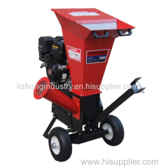 18hp 100mm chipping capacity mini wood chipper