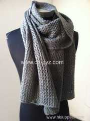 Women's Warp Knitting Scarves
