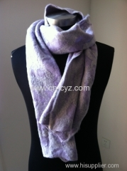 Women's Winter Warp Knitting Scarves