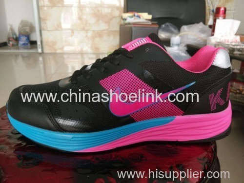 Classic sport running shoes pu sole