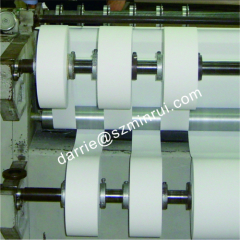 China top factory of ultra destructible label hotsale moderate fragile face destructible label paper able die cutting