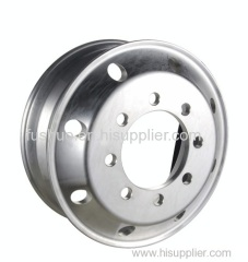 trailer truck silver tube steel wheel rim parts bus 22.5-7.50 8 holes