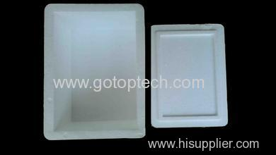 professional manufacturer eco-friendly seafood fishes box Automatic EPS Box Machine for Seafood Container