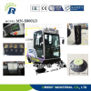 Dust cleaner vehicle self discharge electric industrial sweeper