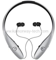New LG Tone HBS-900 Infinim Stereo Premium Bluetooth Headset Neckband Style Headphone Silver
