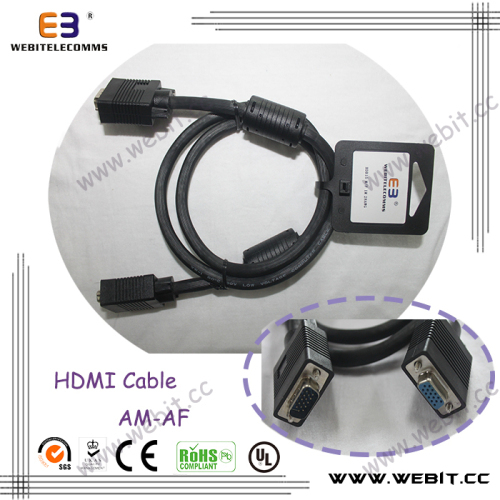 VGA Cable USB Cable HDMI CABLE Mirco Cable VGA to HDMI Cable