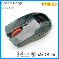 2.4g cool design solar wireless mouse