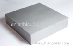 Sintered polished tungsten carbide blank