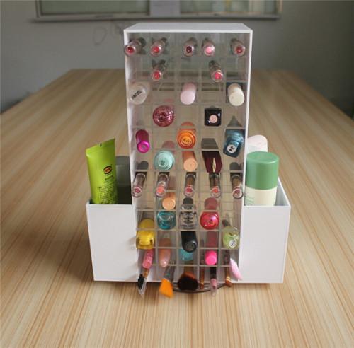 Acrylic cosmtic display stand