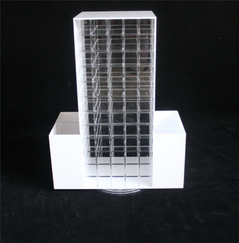 Factory Promotional Makeup Counter Display Rack Acrylic Lipstick Organizer Shadow Brush Accessory Oganizer