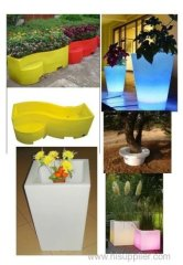 rotomolding light cover and rotomoulding gardening product