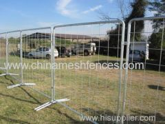 Industrial Event Fence Panel Temporary