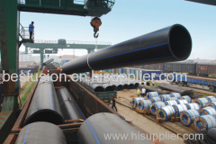 PE100 Water Pipe dn1600 SDR26 HDPE Pipes