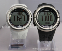 New model dual time heart rate monitor watch calorie counting watch sport watch