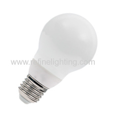 6W LED A60 bulb pear shaped E27