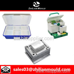 custom OEM plastic medical box mould with high precision in China