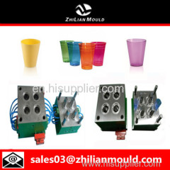 custom OEM plastic water cup mould with high precision in China