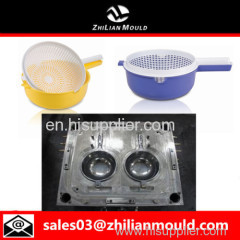 custom OEM plastic strainer mould with high precision in China