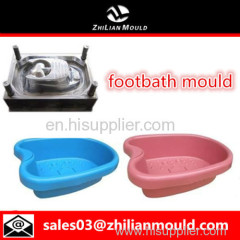custom OEM plastic footbath mould with high precision in China