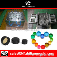 custom OEM plastic bottle cap mould with high precision in China