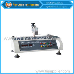 Zipper Slide Close Force Testing machine