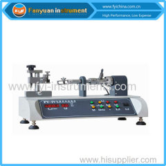 Zipper slider torsion tester