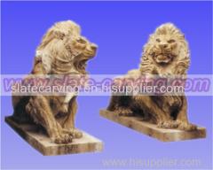 animal statues.animal sculptures.stone sculptures.garden stone
