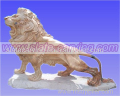 stone lions.stone tigers.marble lions. stone sculptures