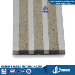 Outdoor commercial aluminum abrasive carborundum insert stair nosing