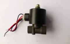 "2/2 way 3/8"" plastic waterproof solenoid valve"