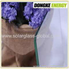 Low iron ultra clear solar glass 4.0mm