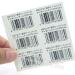Shenzhen Factory Direct Supply Roll Barcode Sticker Asset Labels Barcode Self Adhesive Vinyl Rolls