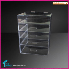 Acrylic makeup display holder