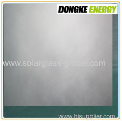 4.0mm AR Coating self cleaning solar glass with high quality