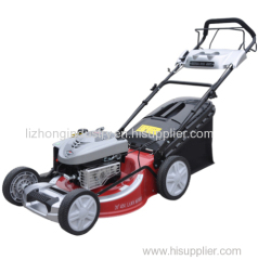 B&S 4hp steel deck Self propelled gasoline 18inch tractor lawn mower in china