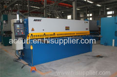 metal cutting guillotine shearing machine
