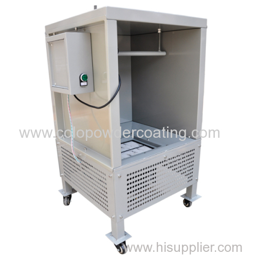 110V /220V Lab Small Powder Coating Booth for Powder coating Testing