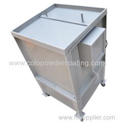 110V /220V Lab Small Powder Spray Booth for Powder coating Testing