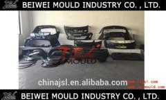 car bumper plastic injetion mould