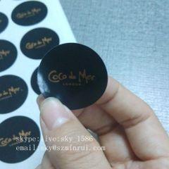 Customized Adhesive Round Sticker
