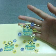 Customized Adhesive Clear Sticker