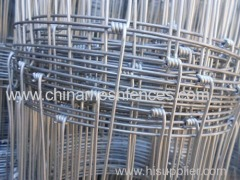 2.4M Height Hinge Joint Grassland Fence Mesh Wire